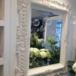 vit spegel