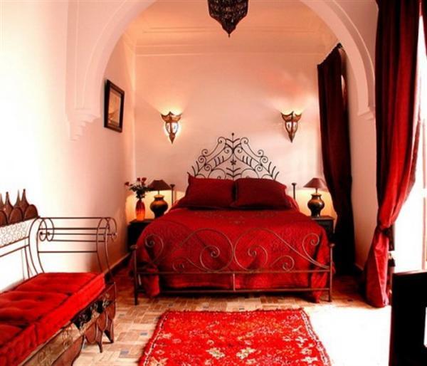 Lyxig inredning inredningsblogg for Moroccan bedroom inspiration