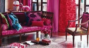röda färger