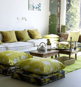 grönt hemma
