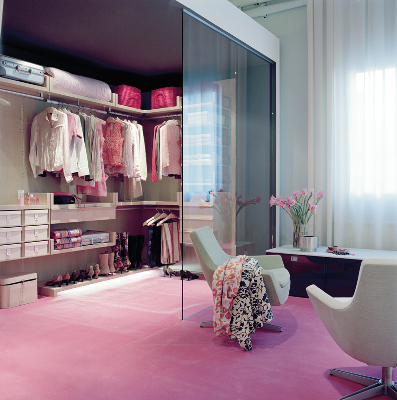 Beautiful Bedroom Girls With Dressing Room: Inspiration: Walk In Closet