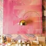 rosa orange färger